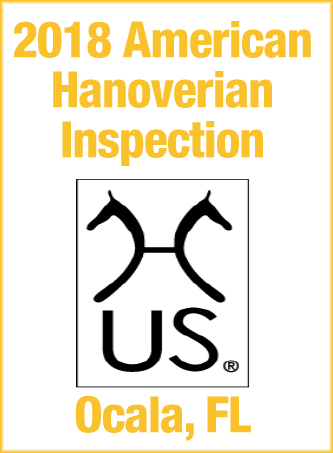 2018 American Hanoverian Inspection