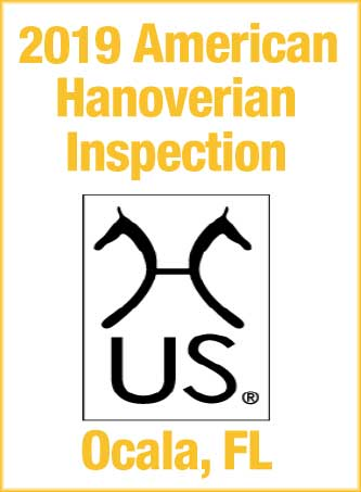 2019 Hanoverian Inspection